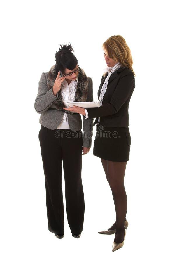 επιχειρησιακές γυναίκες στοκ εικόνα