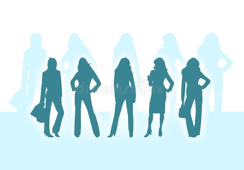 επιχειρησιακές γυναίκες ελεύθερη απεικόνιση δικαιώματος
