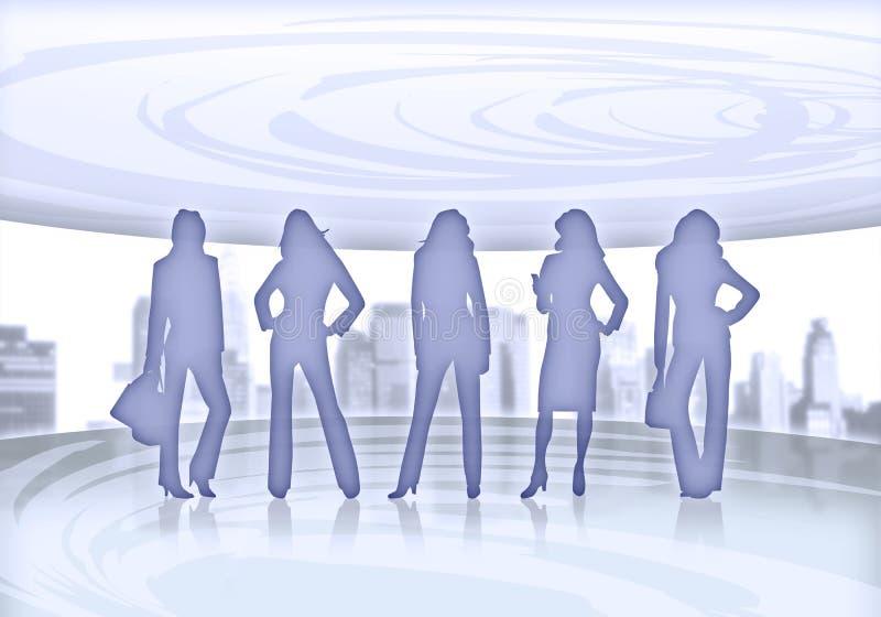 επιχειρησιακές γυναίκε απεικόνιση αποθεμάτων