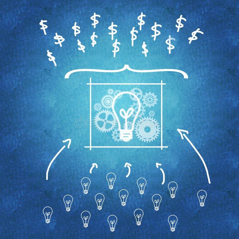 Επιχειρησιακές ιδέες που οδηγούν σε περισσότερο κέρδος ελεύθερη απεικόνιση δικαιώματος