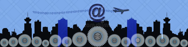 επιχειρησιακές συνδέσε ελεύθερη απεικόνιση δικαιώματος