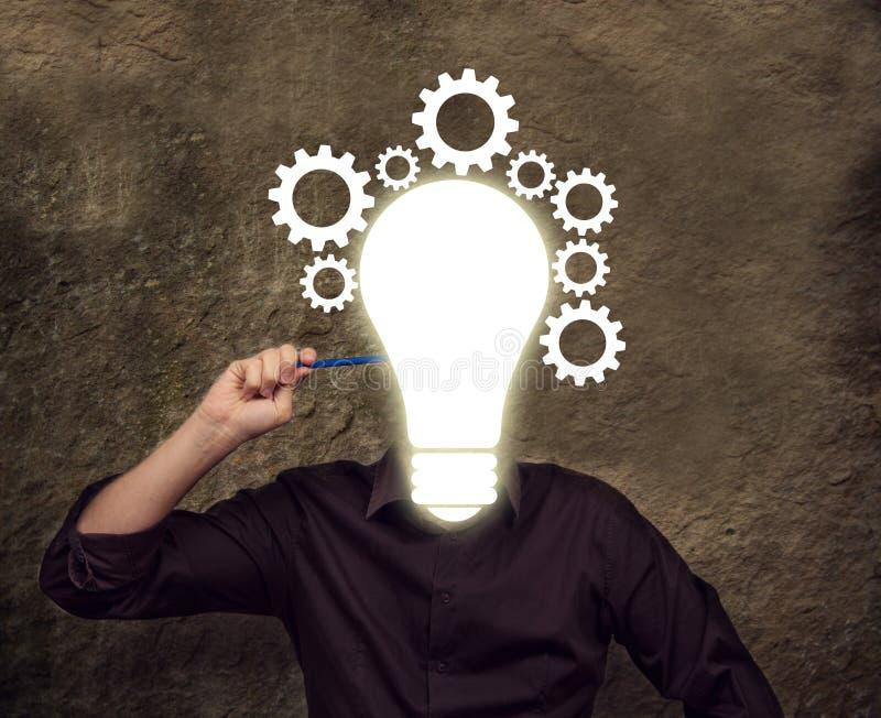 Επιχειρησιακή έννοια: Ιδέες στοκ εικόνα με δικαίωμα ελεύθερης χρήσης
