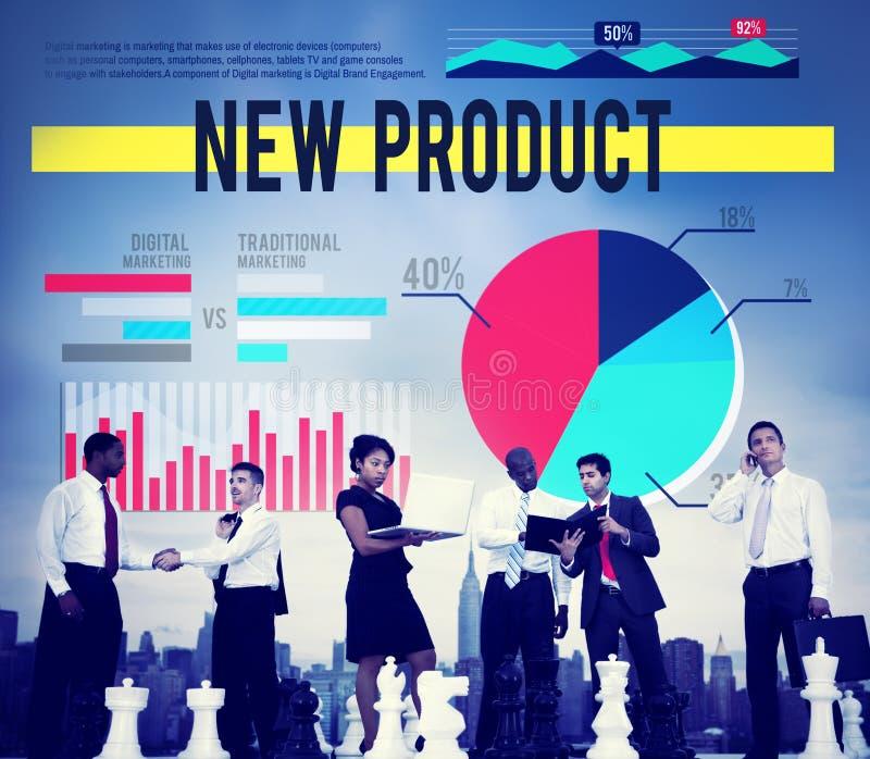 Επιχειρησιακή έννοια μάρκετινγκ προώθησης νέων προϊόντων στοκ φωτογραφία με δικαίωμα ελεύθερης χρήσης