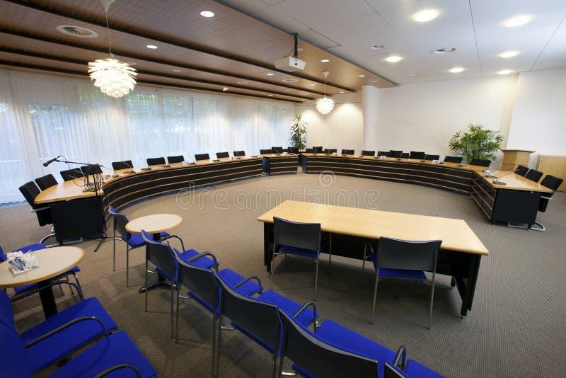 Επιχειρησιακή αίθουσα συνδιαλέξεων στοκ φωτογραφία με δικαίωμα ελεύθερης χρήσης