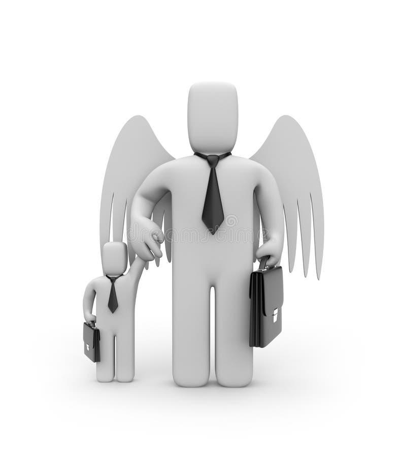 επιχειρησιακή βοήθεια μ&e ελεύθερη απεικόνιση δικαιώματος