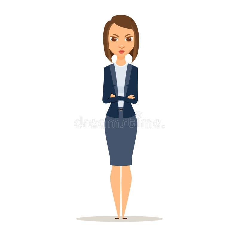 επιχειρησιακή γυναίκαη ελεύθερη απεικόνιση δικαιώματος