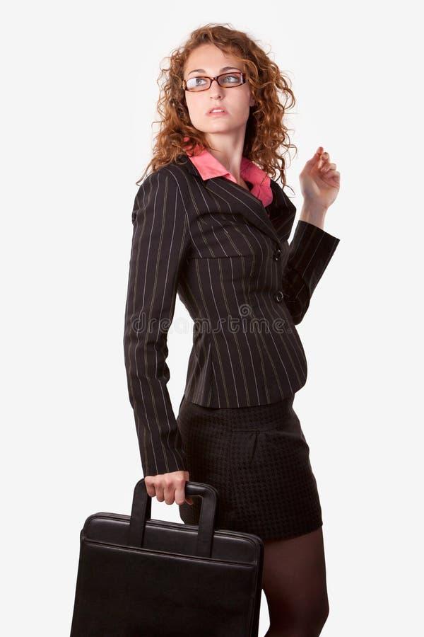 επιχειρησιακή γυναίκα χ&alp στοκ φωτογραφία