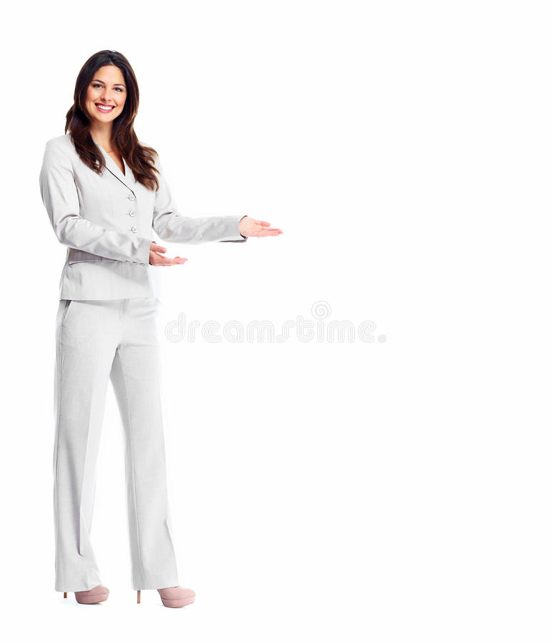 Επιχειρησιακή γυναίκα. στοκ εικόνες