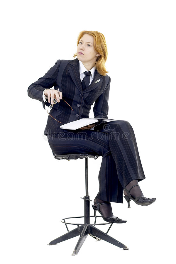 Download επιχειρησιακή γυναίκα στοκ εικόνες. εικόνα από σημειωματάριο - 525440