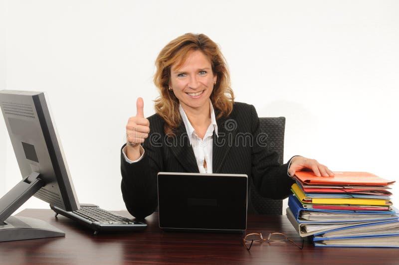 επιχειρησιακή γυναίκα στοκ εικόνες
