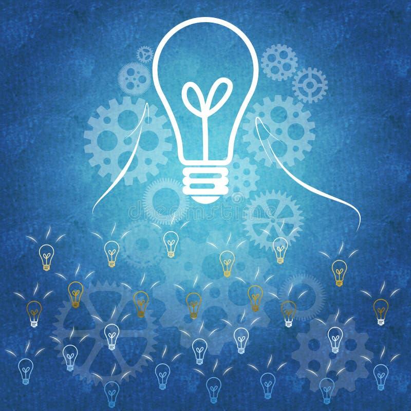 Επιχειρησιακή επιτυχία και εργασία ομάδων διανυσματική απεικόνιση