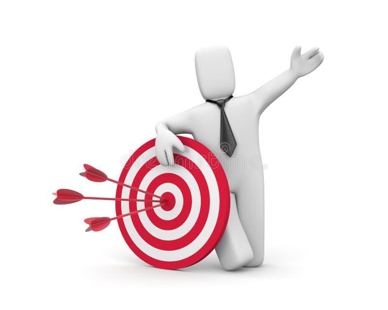 επιχειρησιακή επιτυχία διανυσματική απεικόνιση