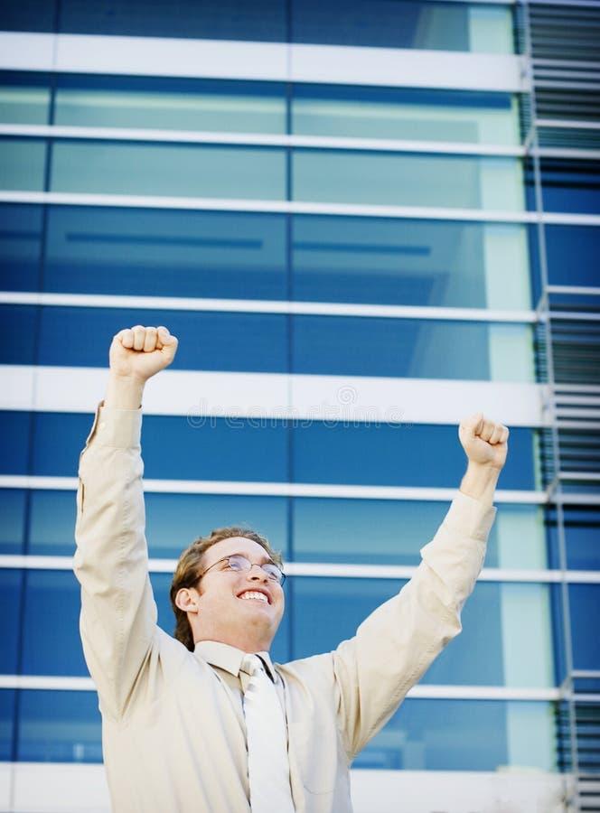 επιχειρησιακή επιτυχία στοκ εικόνα με δικαίωμα ελεύθερης χρήσης