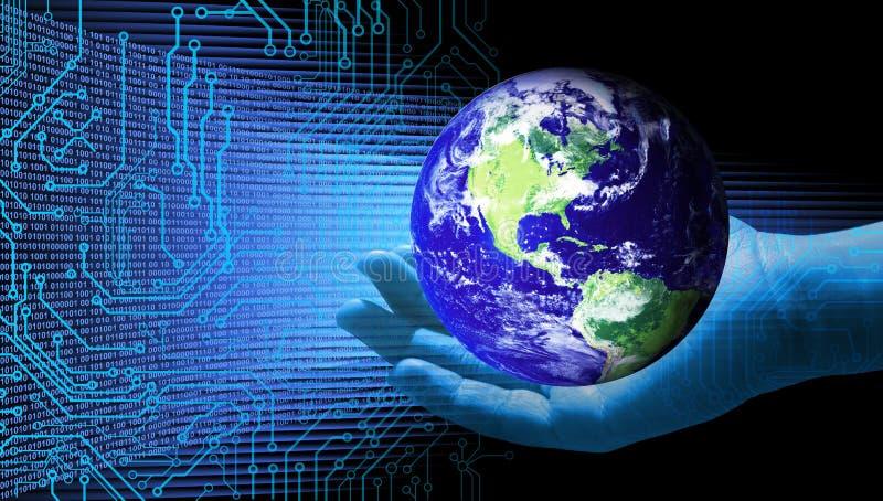 Επιχειρησιακή ευθύνη περιβάλλοντος γήινης ικανότητας υποστήριξης απεικόνιση αποθεμάτων