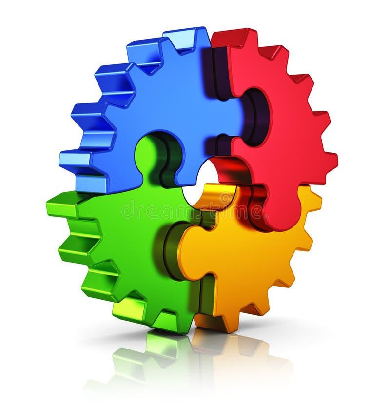 Επιχειρησιακή δημιουργικότητα και έννοια επιτυχίας απεικόνιση αποθεμάτων