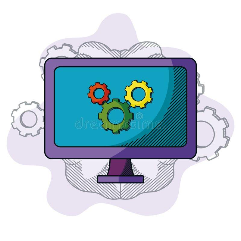 Επιχειρησιακή ιδέα doodle διανυσματική απεικόνιση