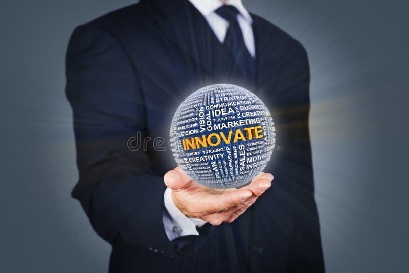 Επιχειρησιακή καινοτομία στοκ εικόνα