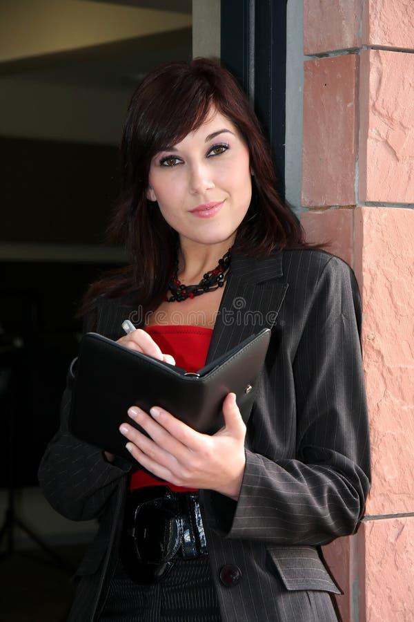 επιχειρησιακή κυρία όμορφη στοκ εικόνες