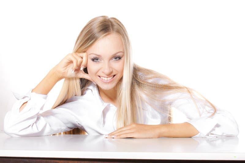 Επιχειρησιακή κυρία στοκ εικόνα με δικαίωμα ελεύθερης χρήσης