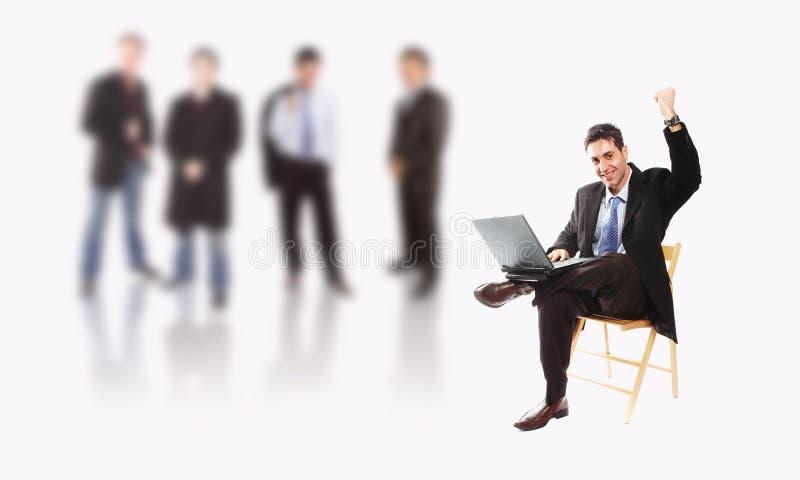 επιχειρησιακή ομάδα στοκ εικόνα