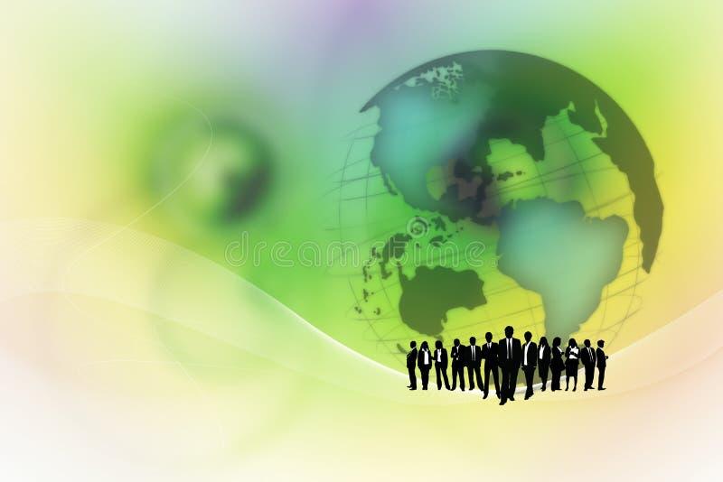 Επιχειρησιακή ομάδα. διανυσματική απεικόνιση