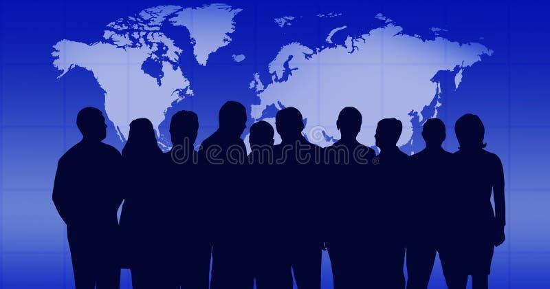 επιχειρησιακή ομάδα απεικόνιση αποθεμάτων