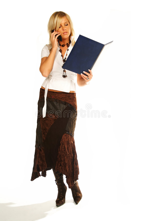 επιχειρησιακή προκλητική γυναίκα στοκ φωτογραφία με δικαίωμα ελεύθερης χρήσης