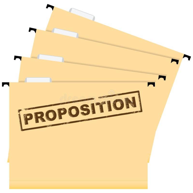 Επιχειρησιακή πρόταση ελεύθερη απεικόνιση δικαιώματος