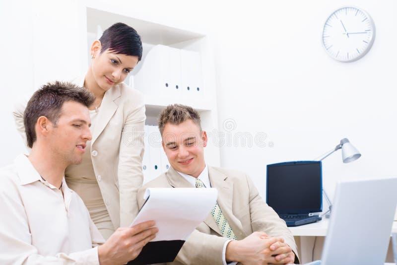 Επιχειρησιακή συνεδρίαση στοκ εικόνες