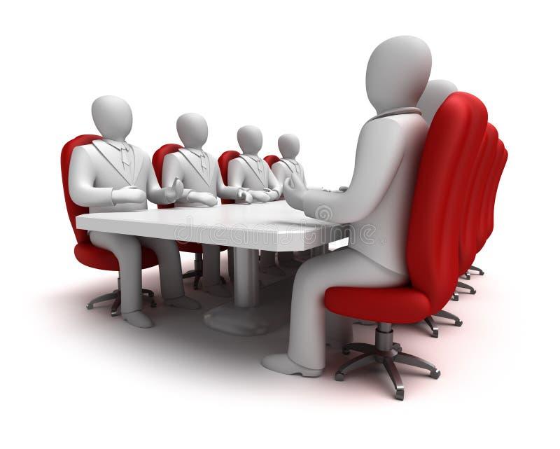 επιχειρησιακή συνεδρία&si απεικόνιση αποθεμάτων