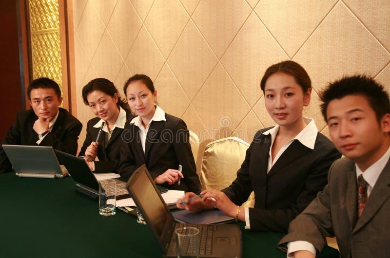 επιχειρησιακή συνεδρία&si στοκ φωτογραφία με δικαίωμα ελεύθερης χρήσης