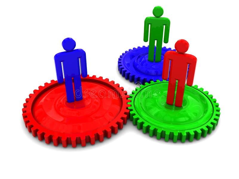 επιχειρησιακή συνεργα&sig ελεύθερη απεικόνιση δικαιώματος