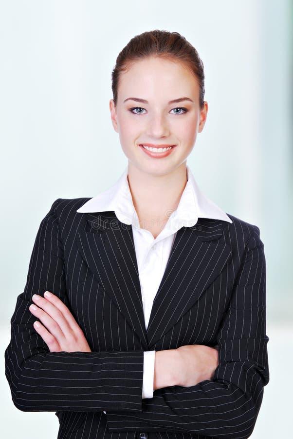 επιχειρησιακή χαριτωμένη γυναίκα στοκ εικόνα με δικαίωμα ελεύθερης χρήσης