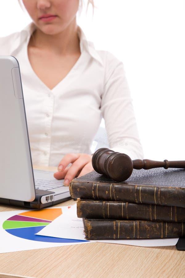 επιχειρησιακοί νόμοι στοκ εικόνα
