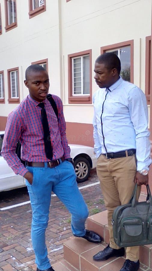 Επιχειρησιακός κόσμος σε Soweto στοκ εικόνες