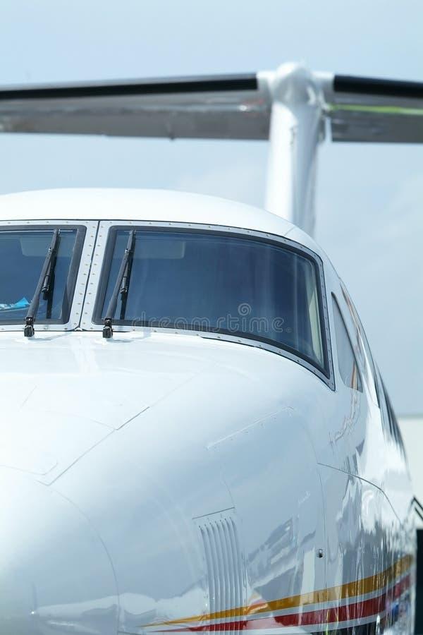 επιχειρησιακός προωστήρας αεροσκαφών στοκ εικόνα