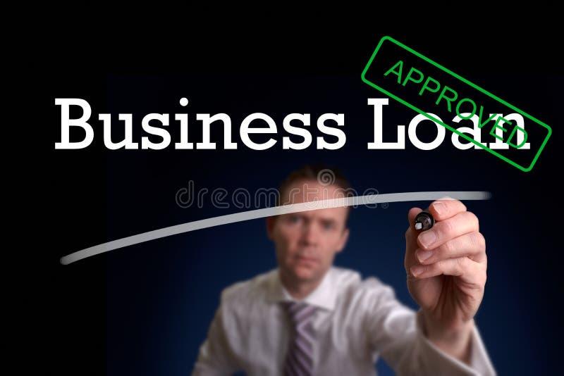 Επιχειρησιακό δάνειο στοκ εικόνα με δικαίωμα ελεύθερης χρήσης