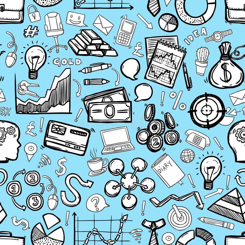 Επιχειρησιακό άνευ ραφής σχέδιο απεικόνιση αποθεμάτων