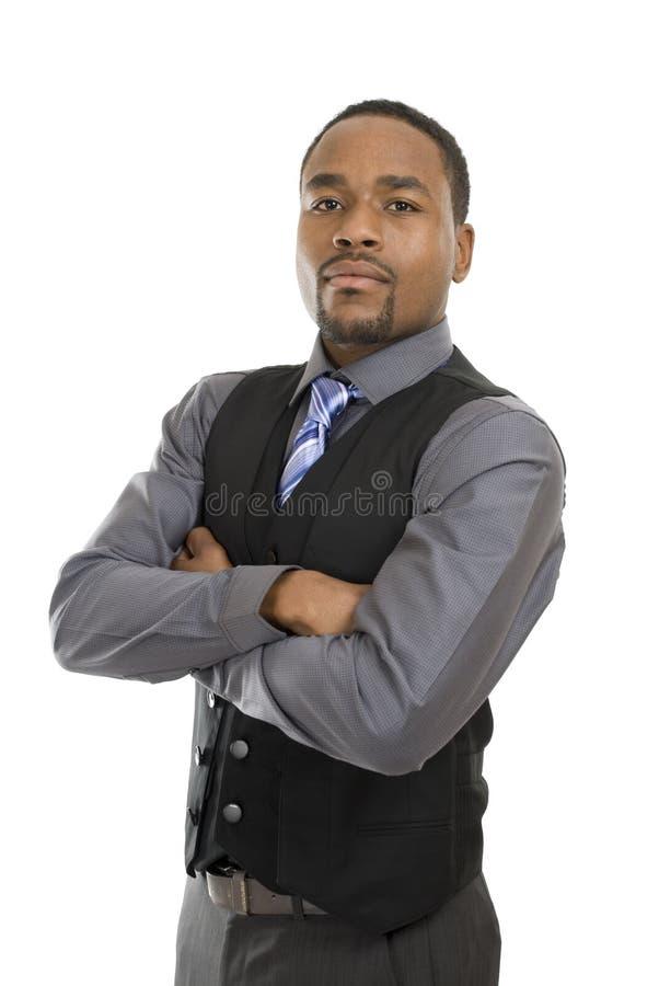 επιχειρησιακό άτομο αφρ&omicr στοκ φωτογραφία