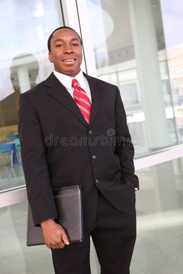 επιχειρησιακό άτομο αφρ&omicr στοκ εικόνες με δικαίωμα ελεύθερης χρήσης