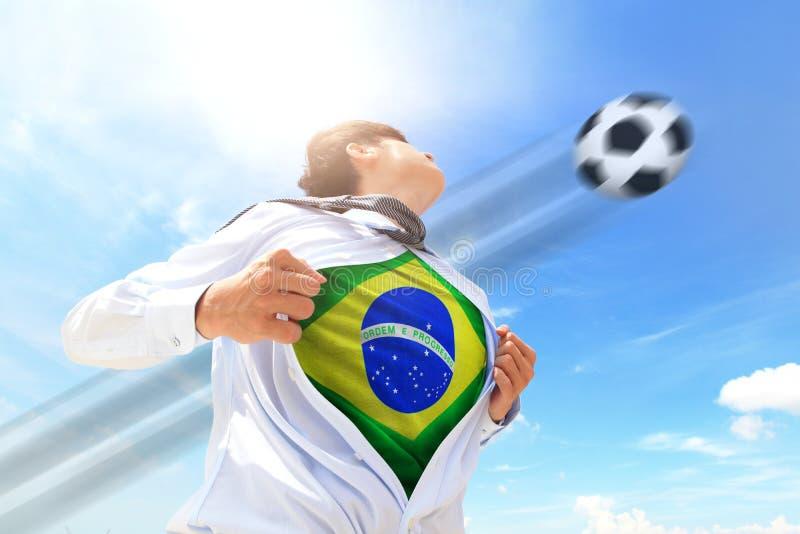 Επιχειρησιακό άτομο της Βραζιλίας στοκ φωτογραφίες