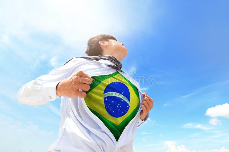 Επιχειρησιακό άτομο της Βραζιλίας στοκ εικόνες