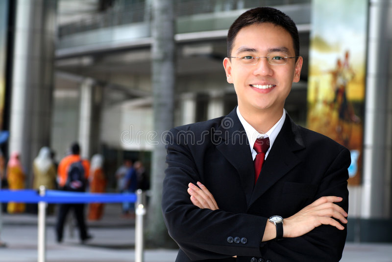 επιχειρησιακό άτομο στοκ φωτογραφία με δικαίωμα ελεύθερης χρήσης