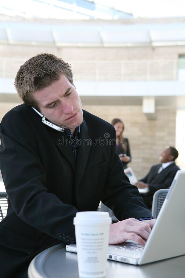 επιχειρησιακό άτομο στοκ φωτογραφία