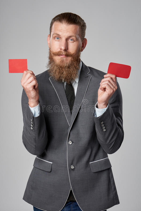 Επιχειρησιακό άτομο Hipster στοκ φωτογραφία με δικαίωμα ελεύθερης χρήσης