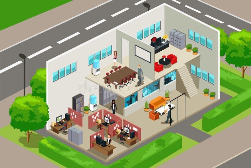 επιχειρησιακό γραφείο ελεύθερη απεικόνιση δικαιώματος