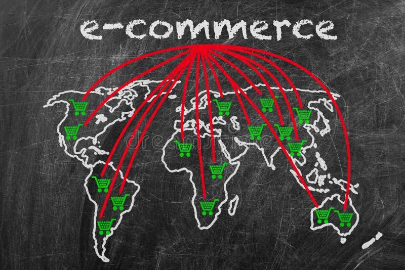 επιχειρησιακό εμπόριο ε στοκ φωτογραφίες με δικαίωμα ελεύθερης χρήσης