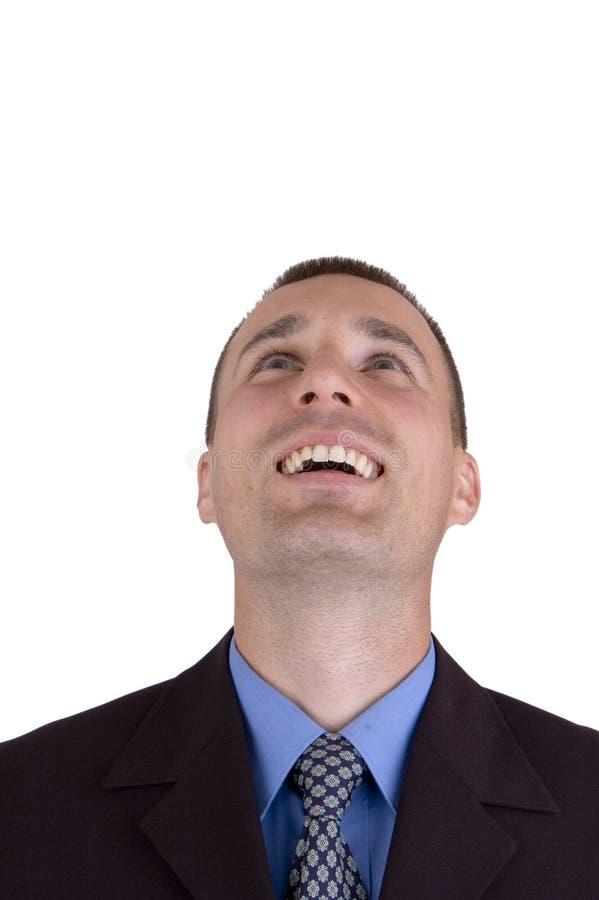 επιχειρησιακό ευτυχές άτομο στοκ εικόνες με δικαίωμα ελεύθερης χρήσης