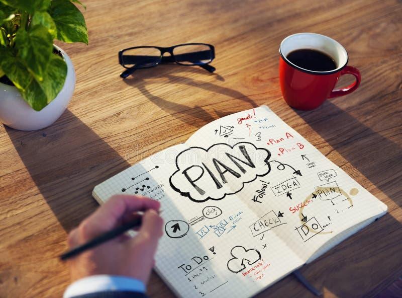 Επιχειρησιακό ζήτημα επιτραπέζιου προγραμματισμού Businessmans στοκ φωτογραφία με δικαίωμα ελεύθερης χρήσης