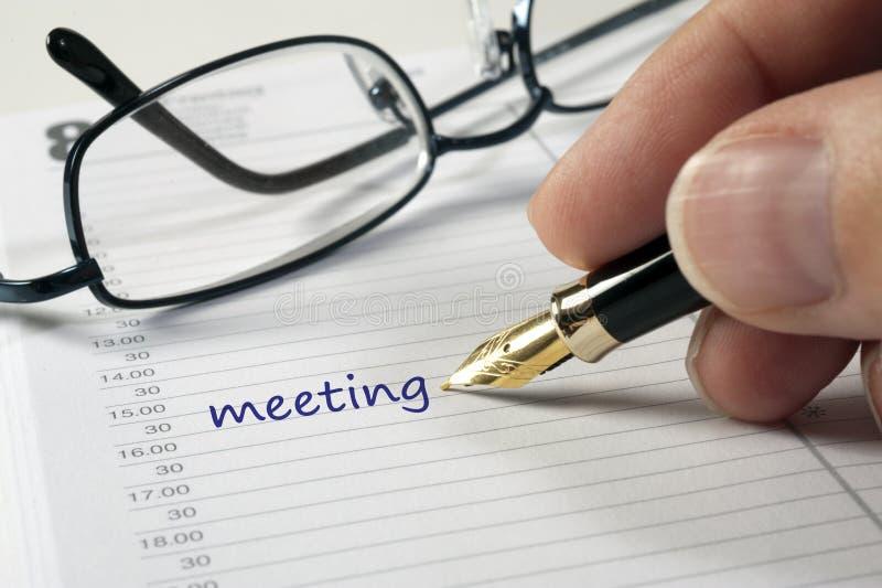 επιχειρησιακό ημερολόγ&iot στοκ φωτογραφίες με δικαίωμα ελεύθερης χρήσης